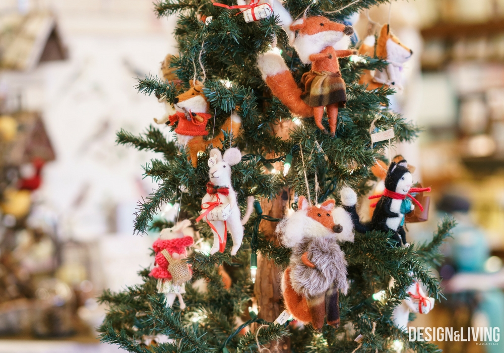 Wool Critter Ornaments