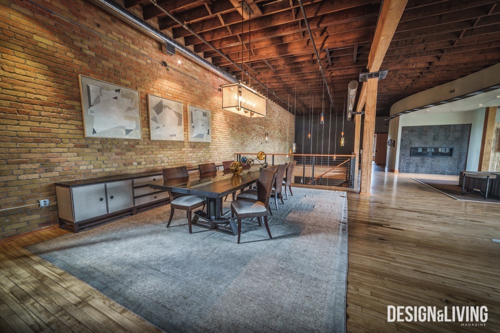 Fargo Laundry building, Home of Keith and Rondi McGovern, Chris Hawley Architects