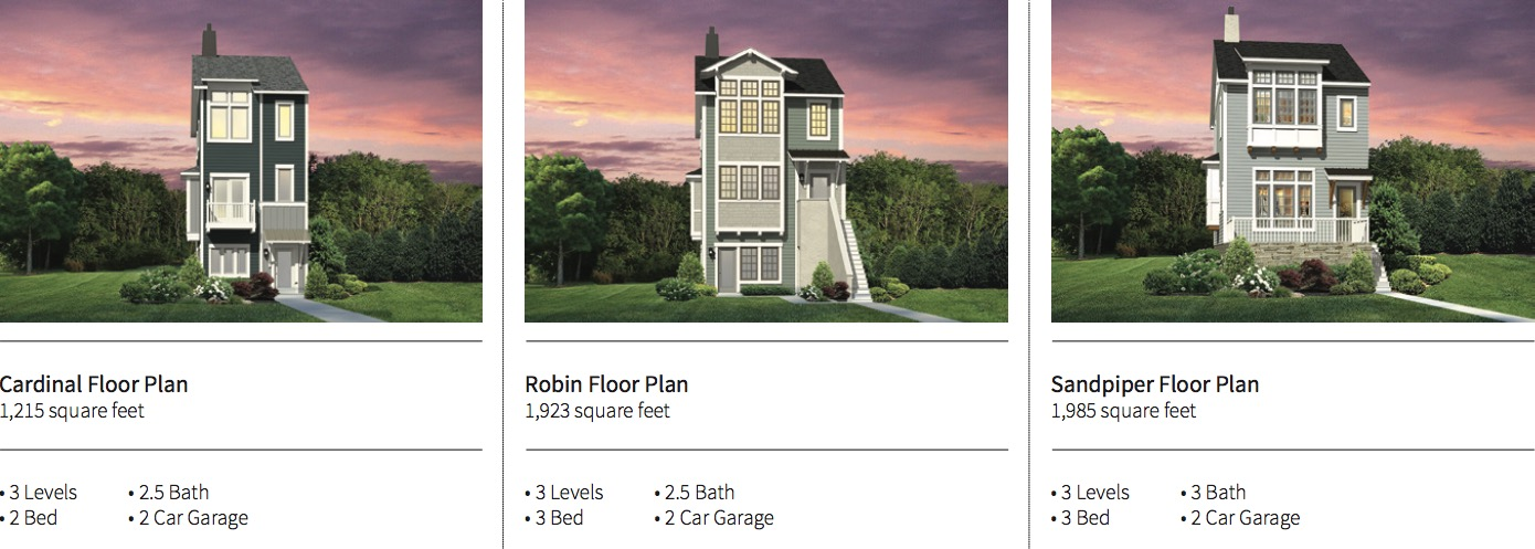 Verity Homes Signature Floor Plans 2