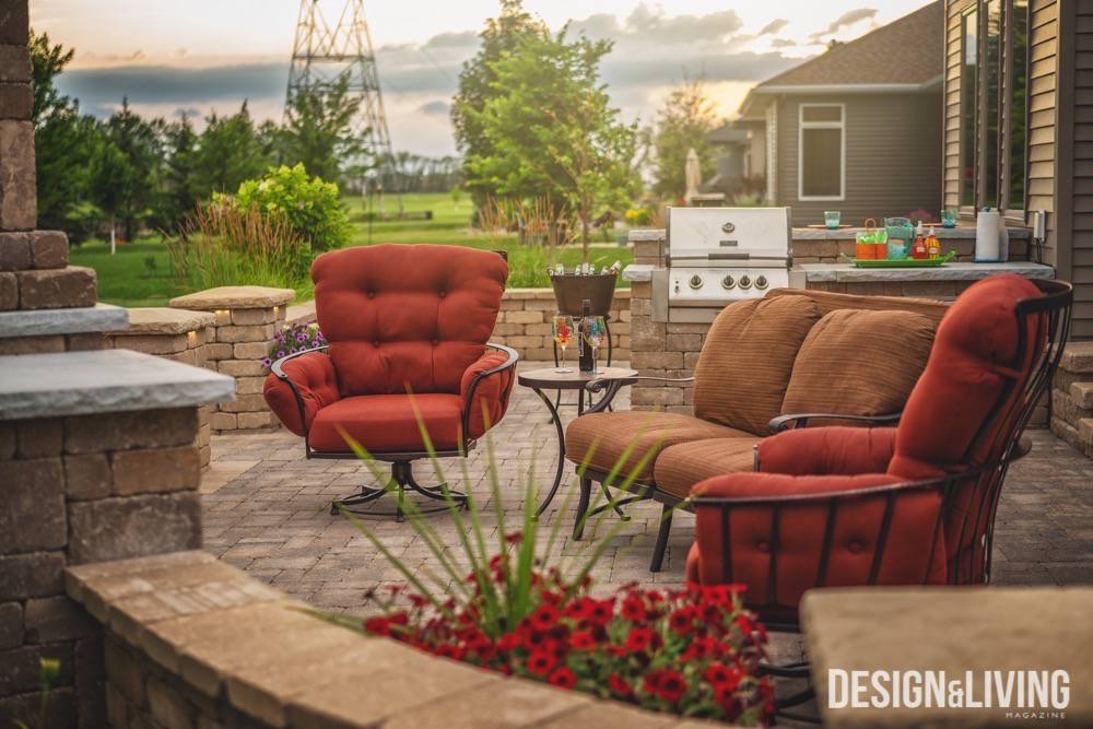 A barbecue-worthy yard thanks to Valley Landscaping