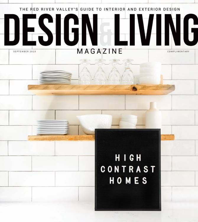 Design & Living Magazine September 2018