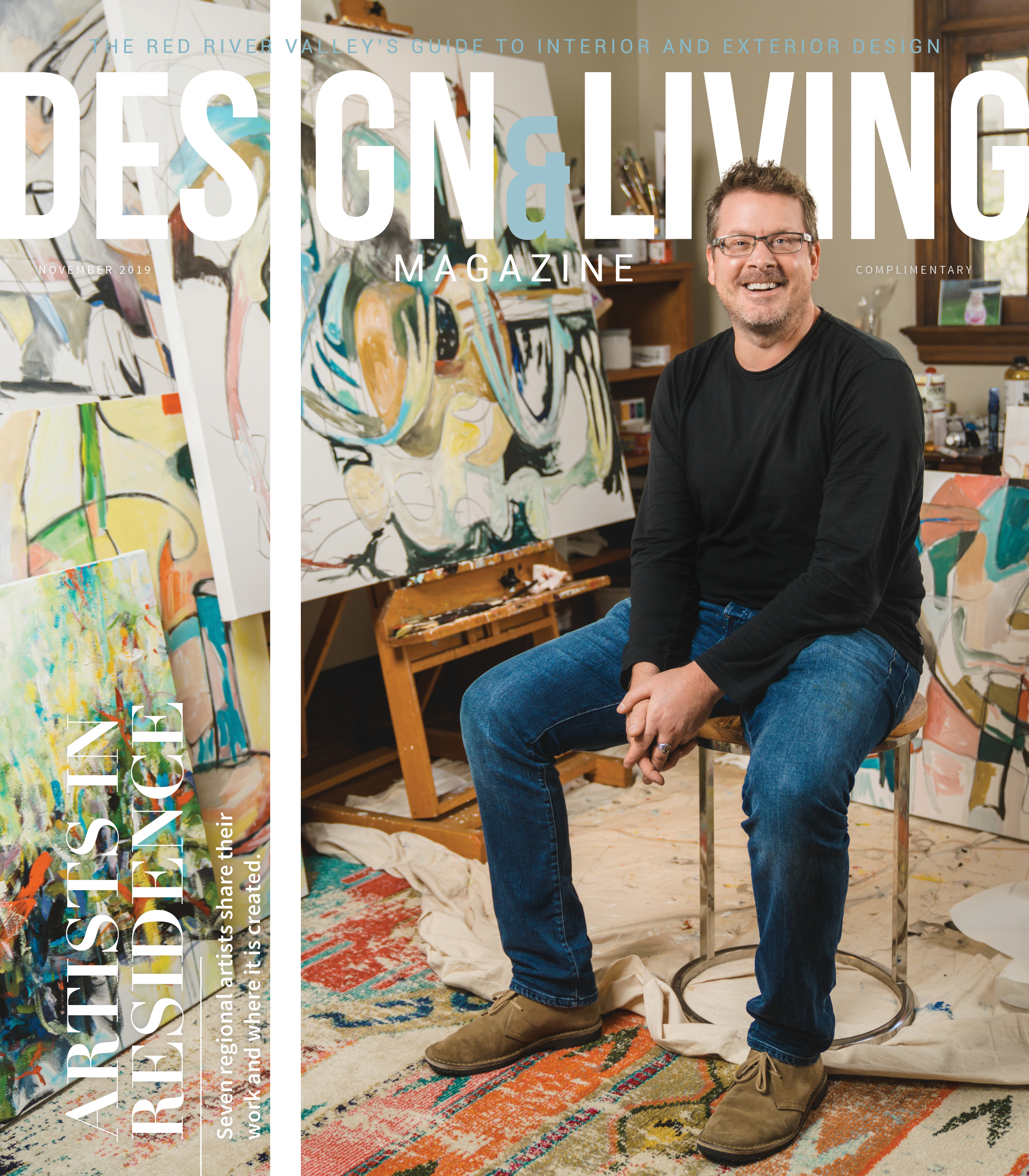 Design & Living Magazine November 2019 Cover
