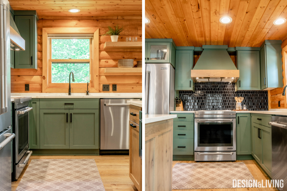 Bunnell Lake Log Cabin Design & Living